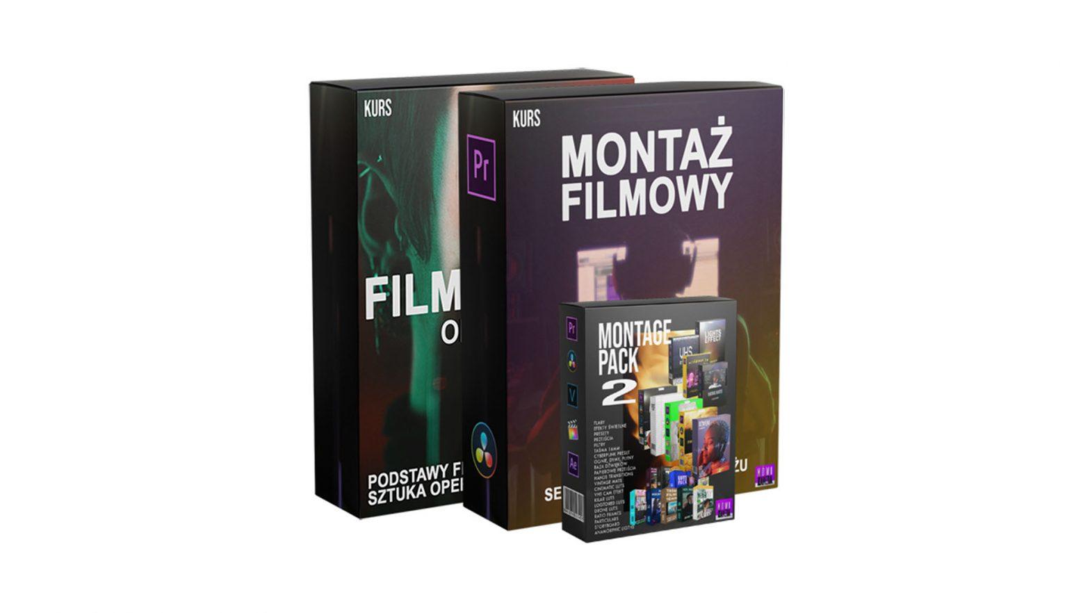 Kurs Filmowania i Montażu MÓWI KAMERA +